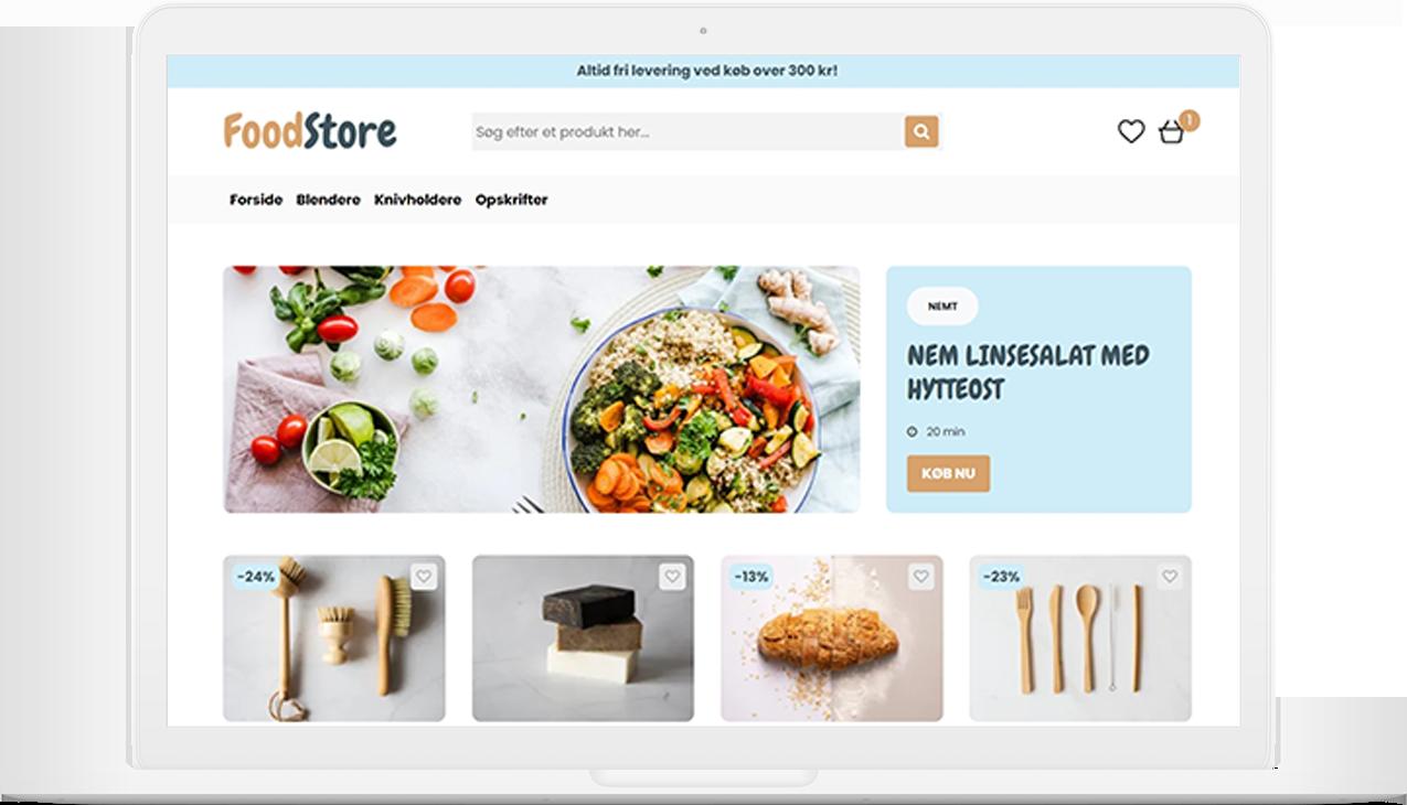 Shoporama Design FoodStore